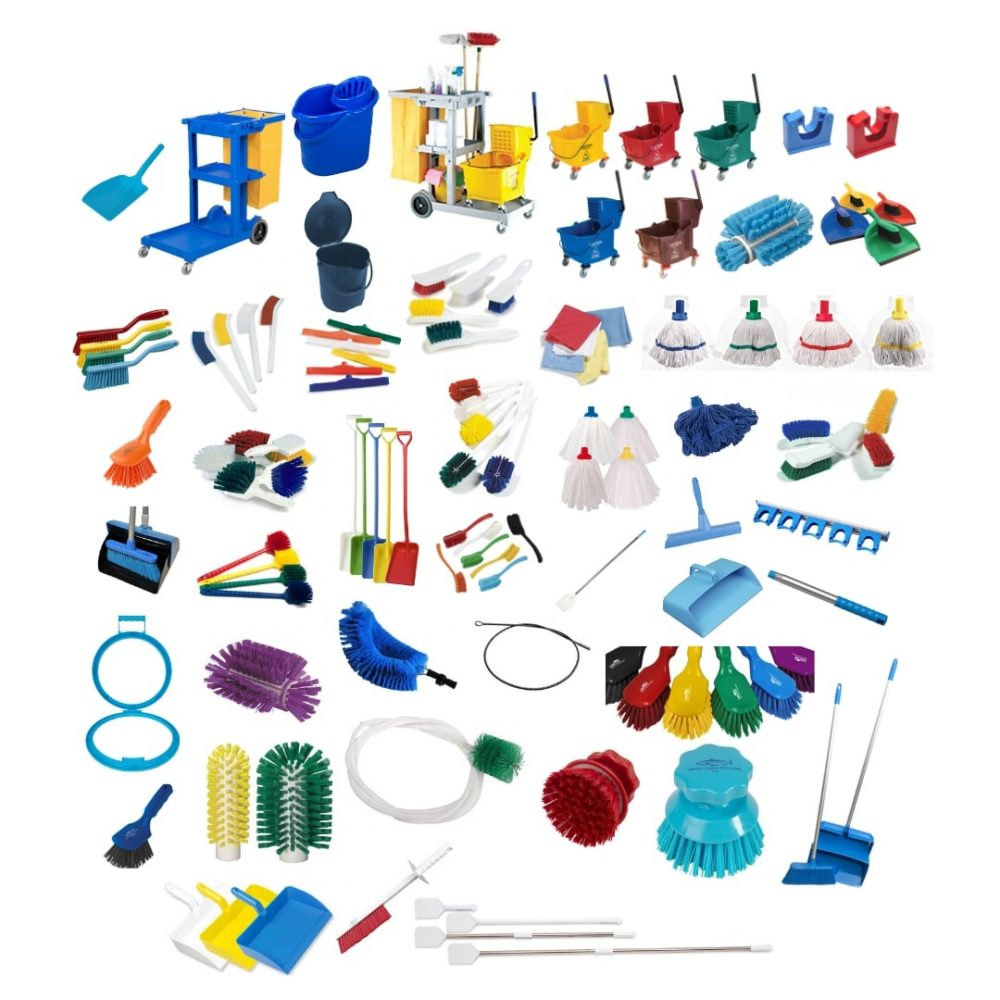 BRUSH WARE CLEANING TOOLS & ACCESSORIES